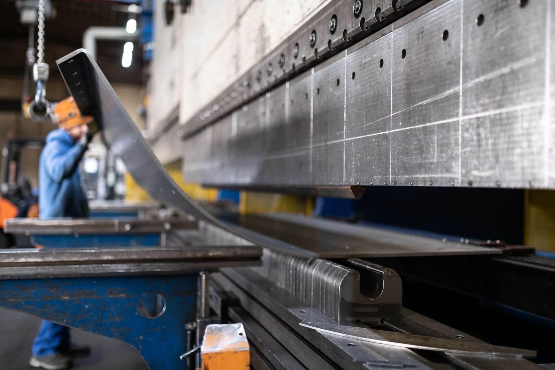 Maschine für das Katen von Stahl